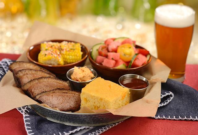 BBQ Brisket platter