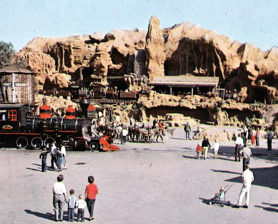 Calico Square in the 1960s