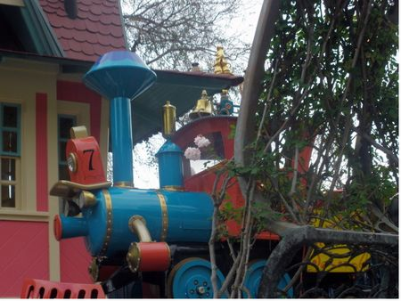 Photo of Casey Jr. Circus Train