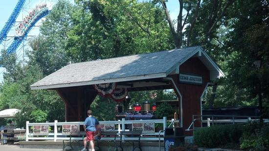 The original Cedar Junction train station