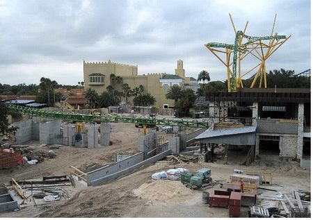 Cheetah Hunt, under construction