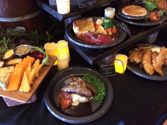 Leaky Cauldron food