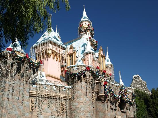 Sleeping Beauty Castle for Christmas