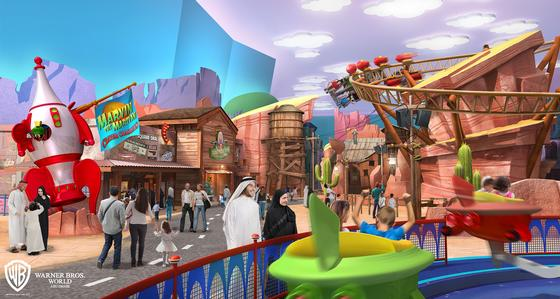 Warner Bros. World Abu Dhabi photo, from ThemeParkInsider.com