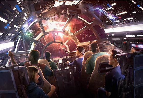 Photo of Millennium Falcon Ride
