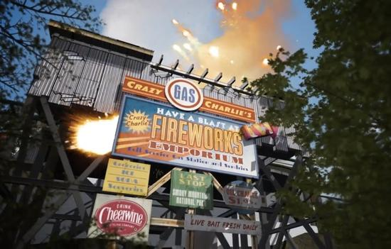 Firechaser Express photo, from ThemeParkInsider.com