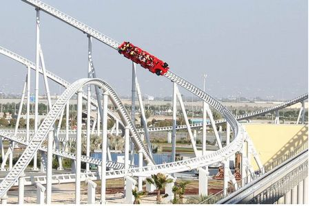 Formula Rossa in action on its opening day