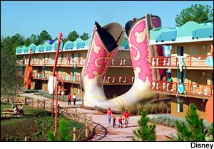 Disney's All-Star Music Resort photo, from ThemeParkInsider.com