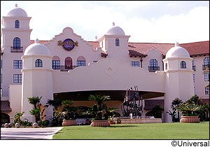 Universal's Hard Rock Hotel photo, from ThemeParkInsider.com