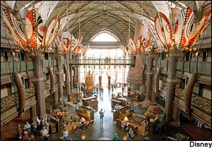 Disney's Animal Kingdom Lodge photo, from ThemeParkInsider.com