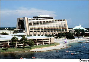 Disney's Contemporary Resort photo, from ThemeParkInsider.com