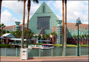 Walt Disney World Dolphin photo, from ThemeParkInsider.com