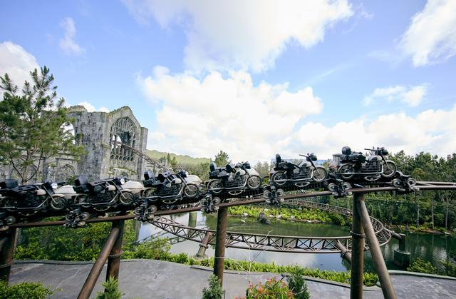 Photo of Hagrid's Magical Creatures Motorbike Adventure