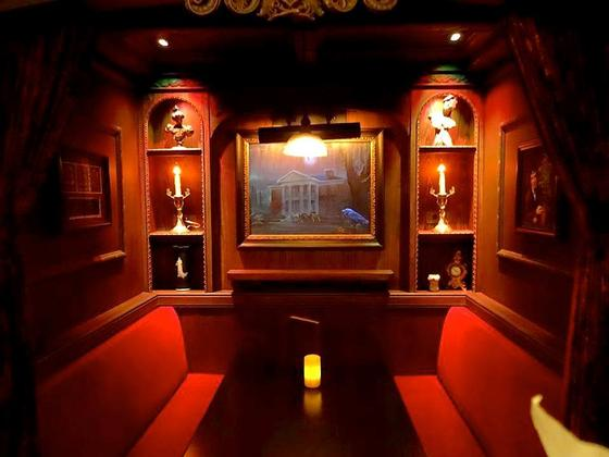 Haunted Mansion booth