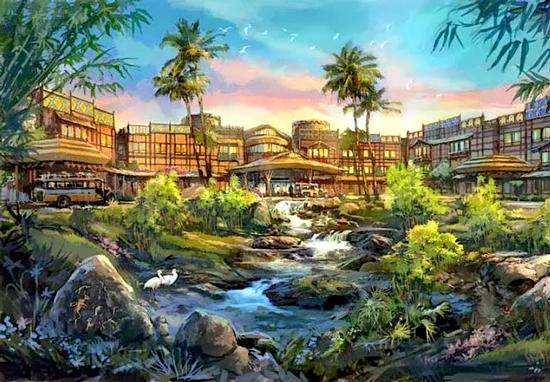 Disney Explorers Lodge