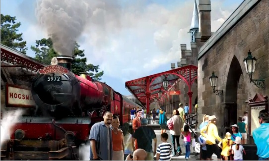 Photo of Hogwarts Express