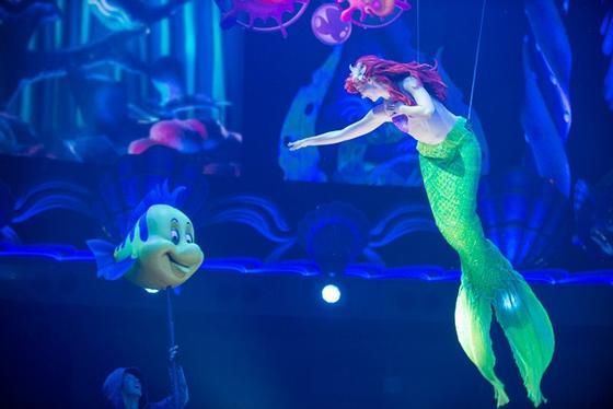 King Triton's Concert Debuts at Tokyo DisneySea