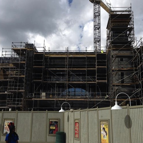 One more Harry Potter Diagon Alley construction photo