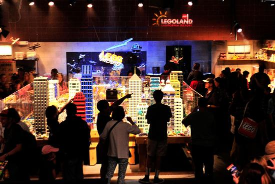The Lego Movie Experience photo, from ThemeParkInsider.com