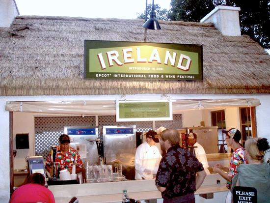 Ireland at the Epcot Food $ Wine Festival