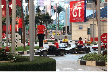 The Junior GT at Ferrari World