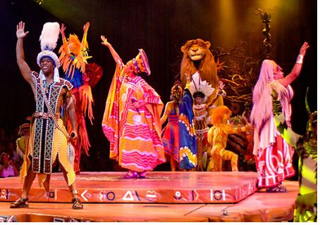 Festival of the Lion King photo, from ThemeParkInsider.com