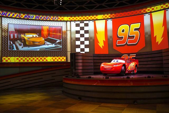 Photo of Lightning McQueen's Racing Academy