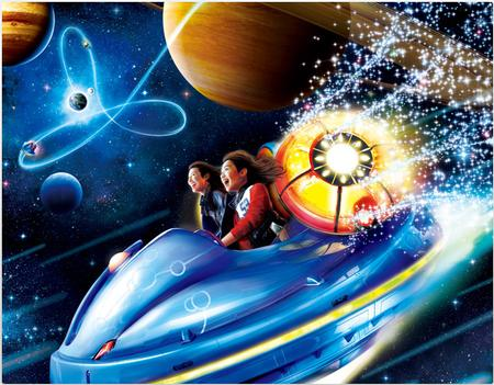 Space Fantasy: The Ride photo, from ThemeParkInsider.com