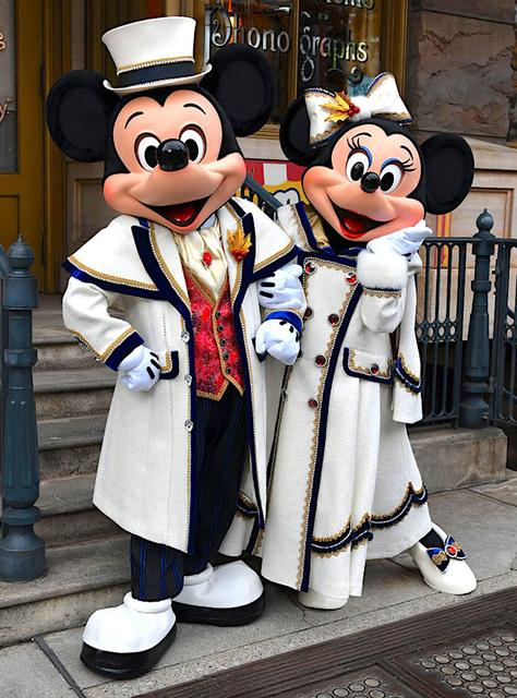 Mickey and Minnie in Tokyo