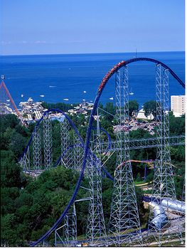 Cedar Point's Millennium Force