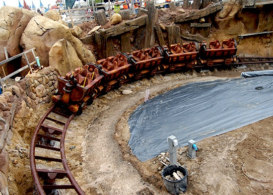 The Seven Dwarfs Mine Train