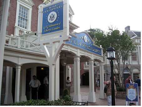 The Hall of Presidents at Walt Disney World's Magic Kingdom