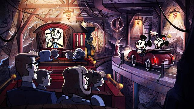 Photo of Mickey and Minnie's Runaway Railway