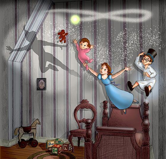 Peter Pan S Flight At Disneyland