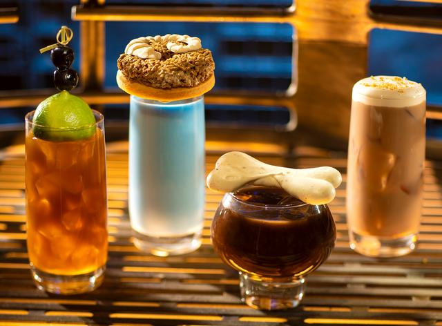 Breakfast beverages at Oga's Cantina