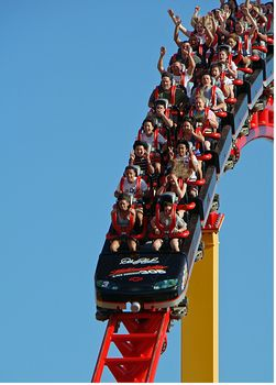 Intimidator 305 photo, from ThemeParkInsider.com