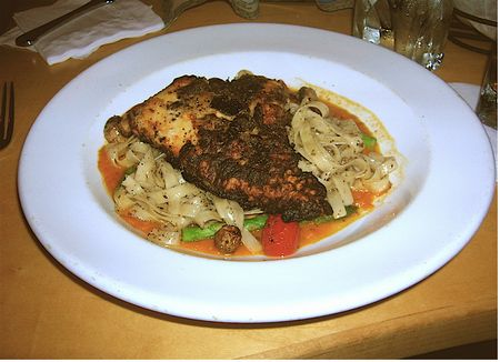 Pasta, with chicken