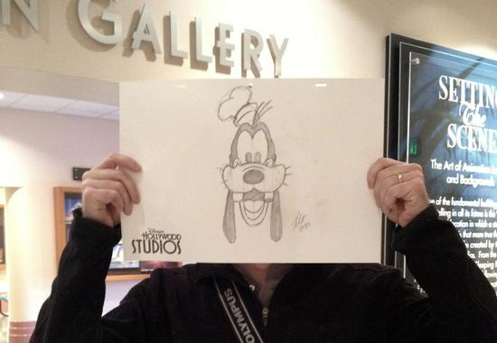 Getting Goofy at the Animation Academy