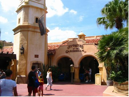 Pirates of the Caribbean at Walt Disney World