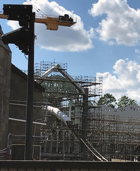 Potter coaster construction photo