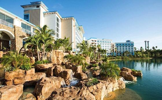 Universal's Sapphire Falls Resort