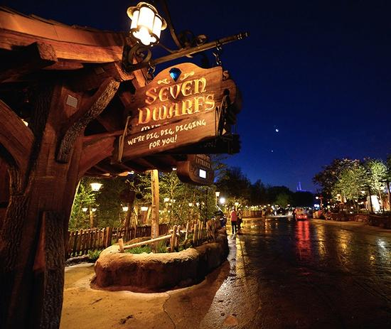 Seven Dwarfs Mine Train entrance