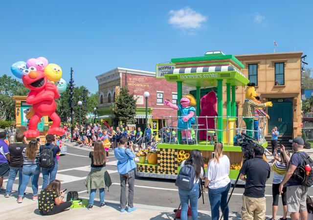Photo of Sesame Street Party Parade