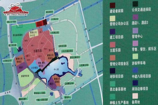 Shanghai Disneyland construction plans