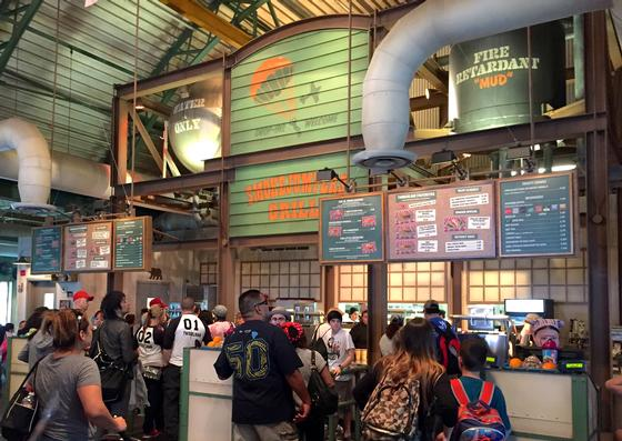 Inside Smokejumpers Grill