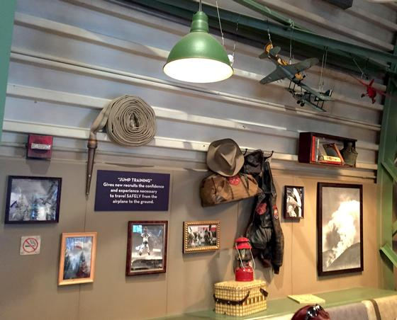 Smokejumpers Grill decor