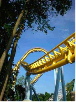 Skyrush coaster