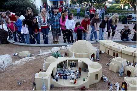 Mos Eisley, from Star Wars Miniland