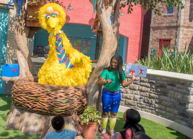 Photo of Storytime with Big Bird