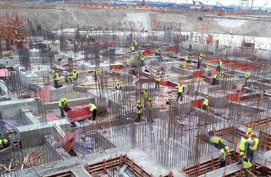 Shanghai Disneyland construction photo
